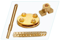 Electrical Fittings Brass Neutral Links Brass Pcb Terminals Brass Socket Pins Brass Clamps Plug Pin Brass Couplers